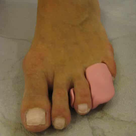 silicona pies